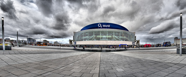 Outside O2 World (Berlin/Germany)