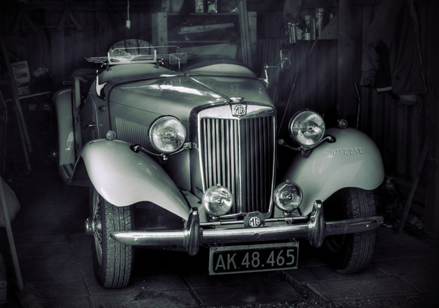 vintage car photographs