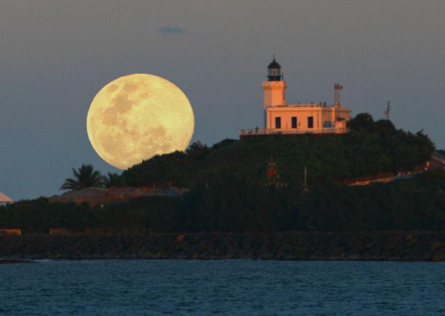 December Moonrise by Carlos Gotay