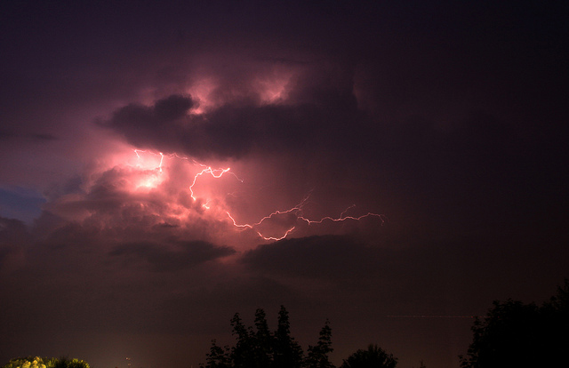 thunder and lightning photos collection