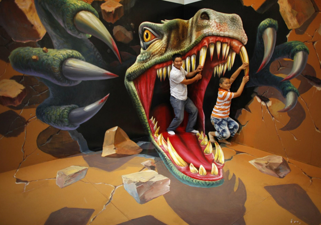 3D Art Exhibition in Hangzhou