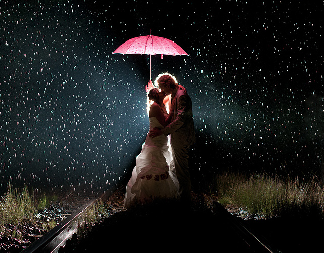 Rainy wedding by Mario Tarello