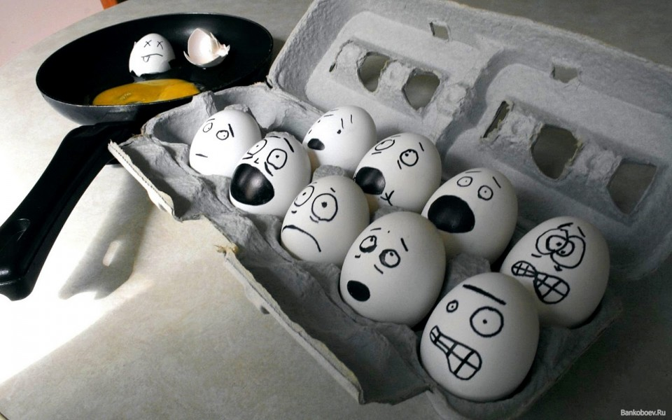 Funny & Creative Egg drawing