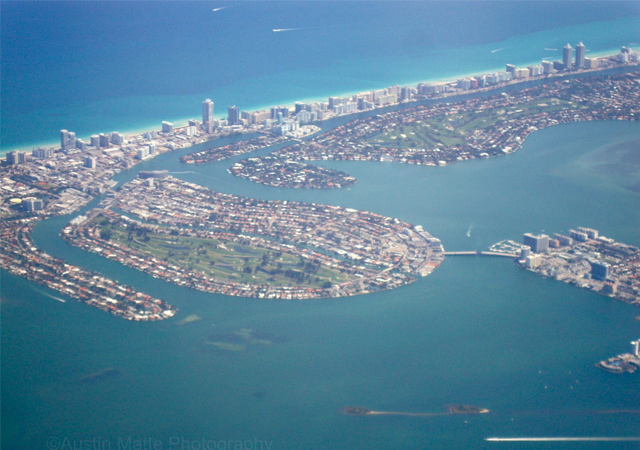 Miami Beach arial