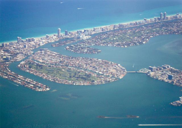 Miami Beach arial