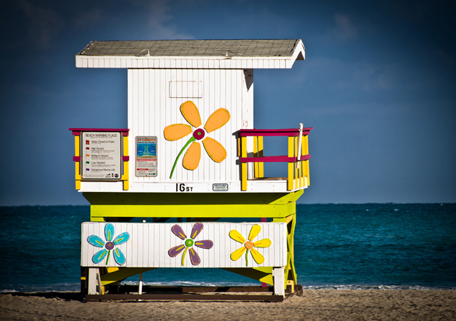 miami beach by Steve Steinmetz