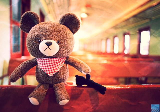 The Journey of Harry the Teddy Bear by happykiddo