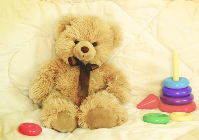 teddy bear by Daria Konyakhina