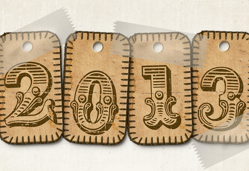 50 creative New Year 2013 Wallpapers