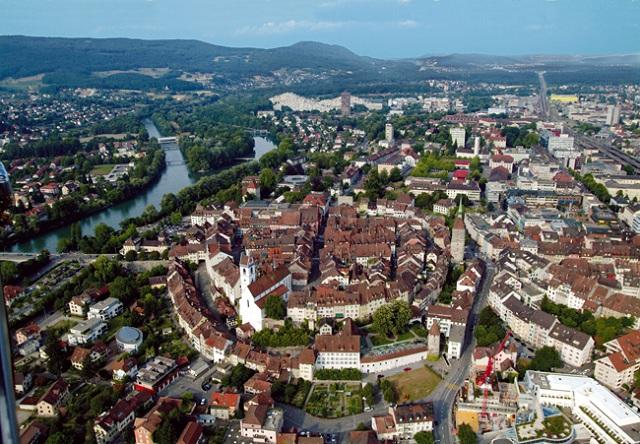 Aarau-Luftaufnahme