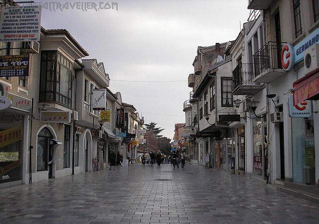 Ohrid street, Macedonia