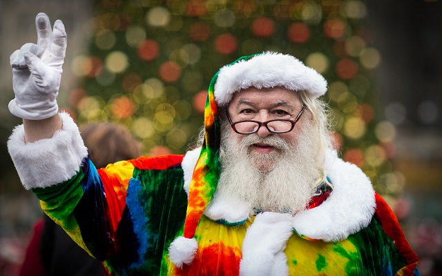 Santa Claus photographs