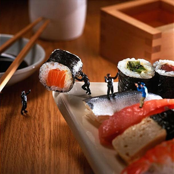 Tiny People In The Food World - Minimiam