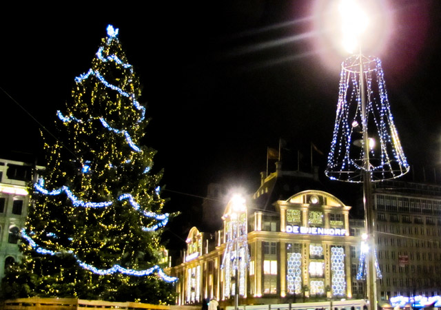 Amsterdam in Christmas style by Addik Zwiers