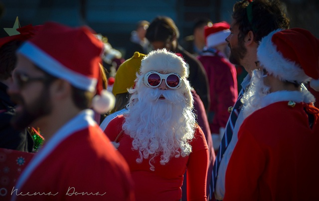 Santa Claus photography