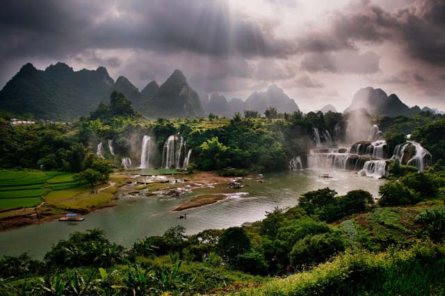 Ban Gioc Waterfall