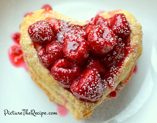 Valentines Day Dessert Raspberry