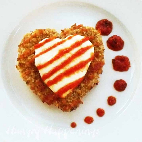 Valentine's Day recipes chicken parmensan