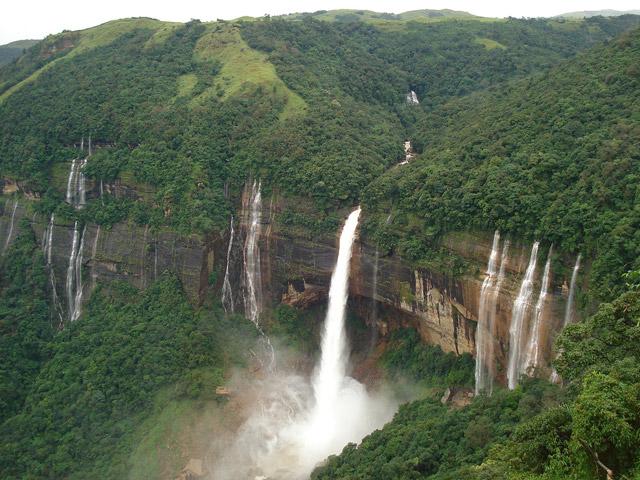 My-Voyage-Nohkalikai-Falls-Cherrapunjee,Meghalaya