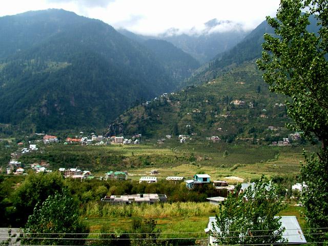 kullu manali village,-Himachal Pradesh