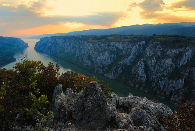 Serbia-Djerdap gorge, river Danube