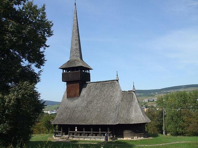 Transylvania ethnographic museum Cizer church
