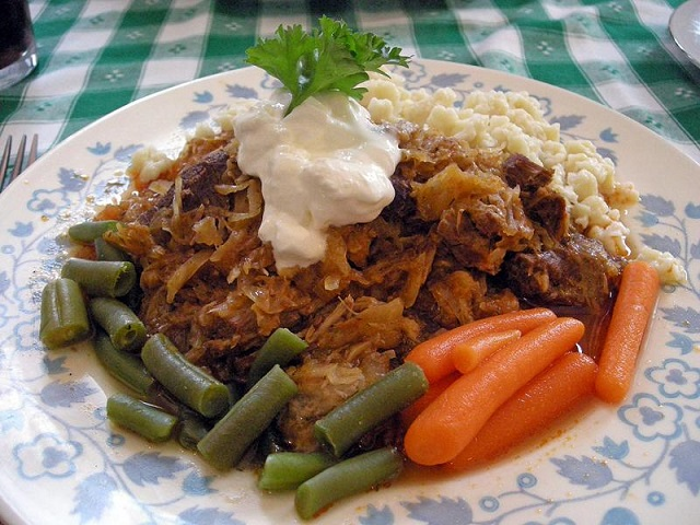 Transylvanian goulash
