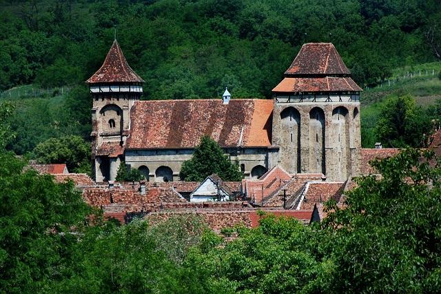 Valea Viilor,biserica fortificata