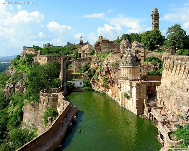 Chittorgarh-Fort,-Rajasthan