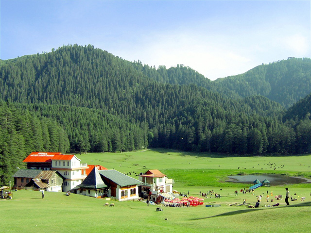 Khajjiar,-Chamba-District-of-Himachal-Pradesh.