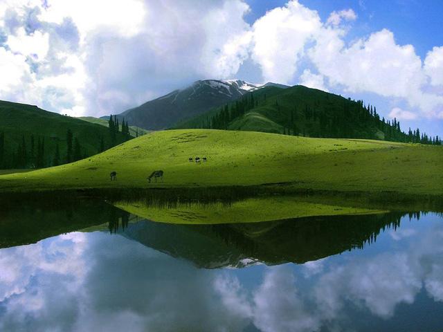 Sheosar-Lake,-Deosai-Plains,-Pakistan