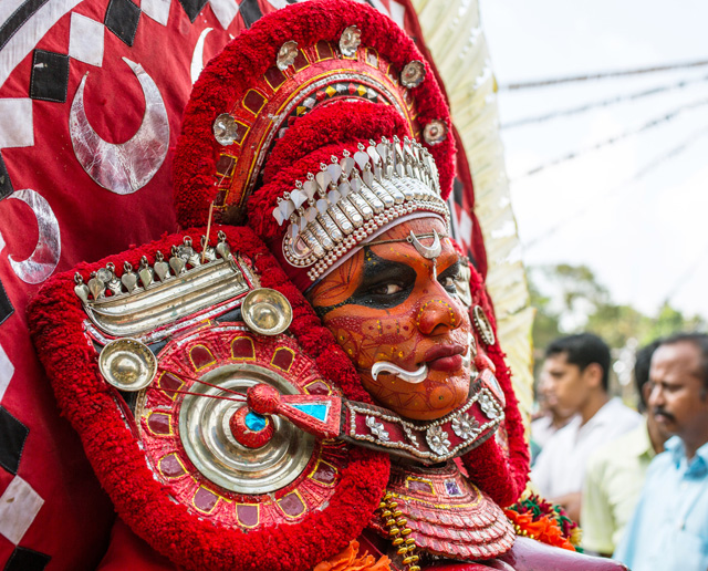 Theyyam-Artist