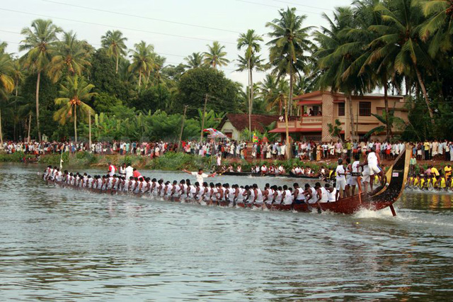 pamba snake boat racing, kerala