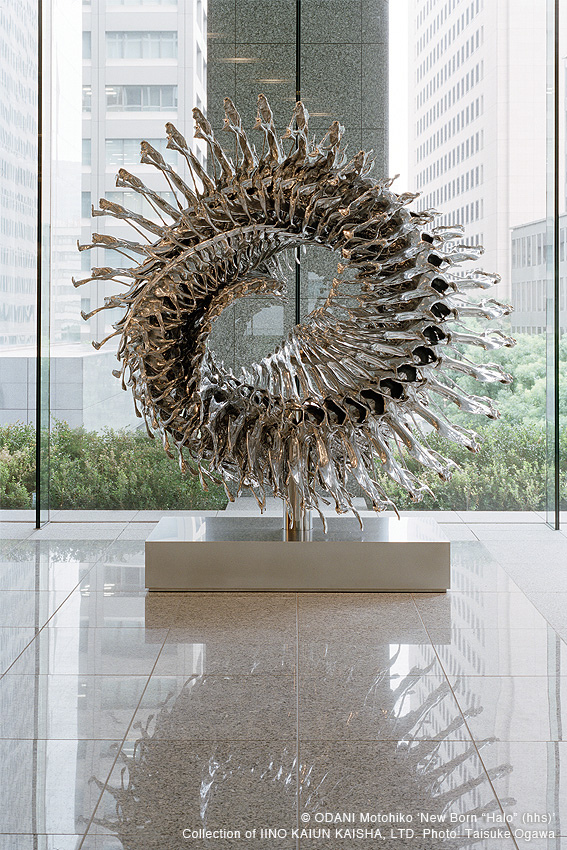Contemporary Sculpture By Odani Motohiko Incredible Snaps