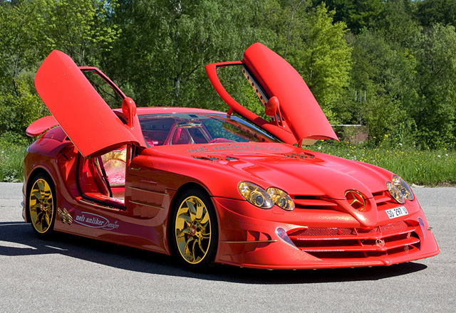 Mercedes-Benz SLR McLaren 999 Red Gold Dream Ueli Anliker,2011