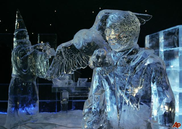 wonderful ice sculptures incredible snaps