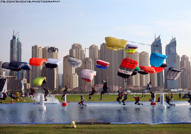 Skydive Timeline by Shoayb Khattab