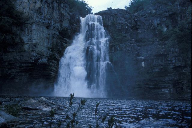 Waterfalls in Chapada dos Veadeiros