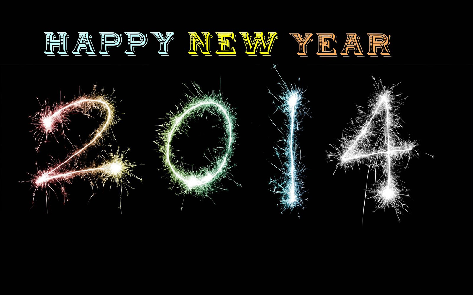 Amazing New Year Wishes Wallpapers: Beautiful Happy New Year 2014 Wallpaper For Greetings