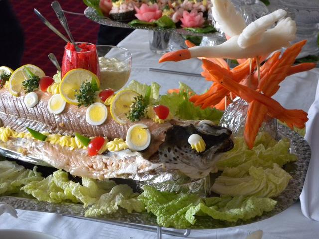 Dragon Fish food