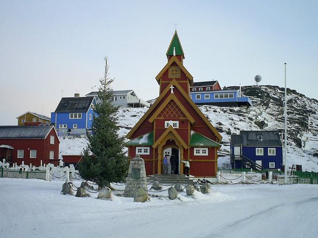 greenland church