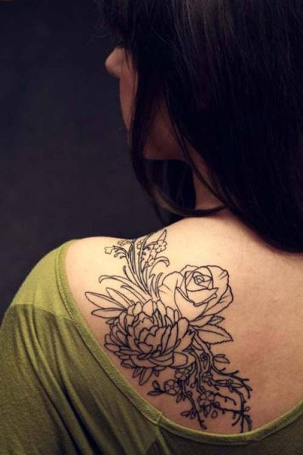 Bellissimi tatuaggi sulla spalla foto for Immagini tatuaggi spalla