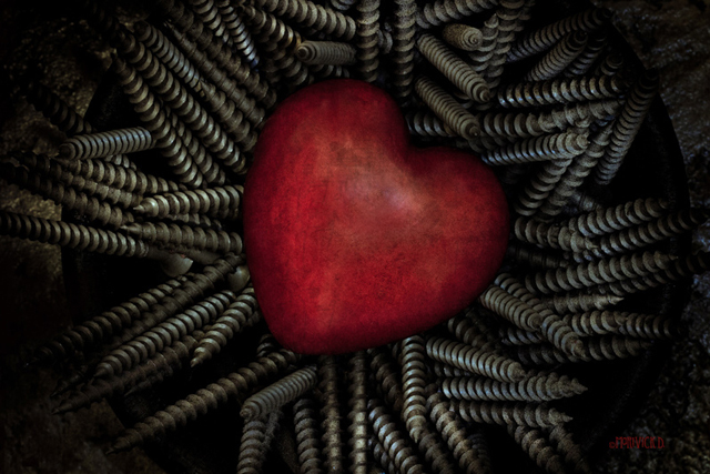 Hot Hearts & Hard Screws by Marivick D