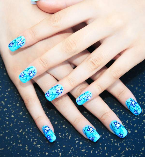 45 acrylic nail design for girls incredible snaps 45 acrylic nail designs for girls prinsesfo Gallery