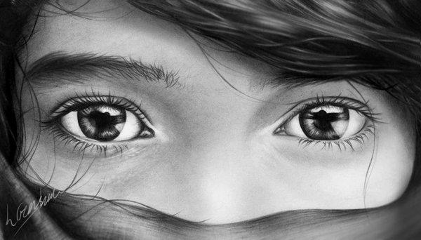Amazing Photographs Of Eyes Showing The Lovely Emotions