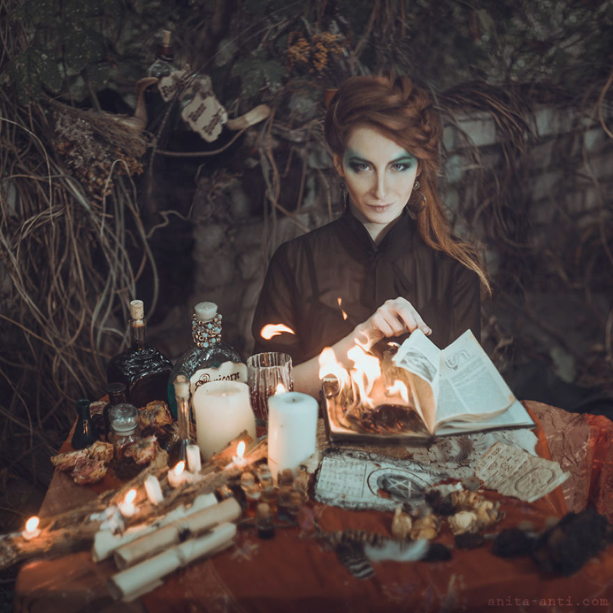 fairytale-photography-women with animals (10)