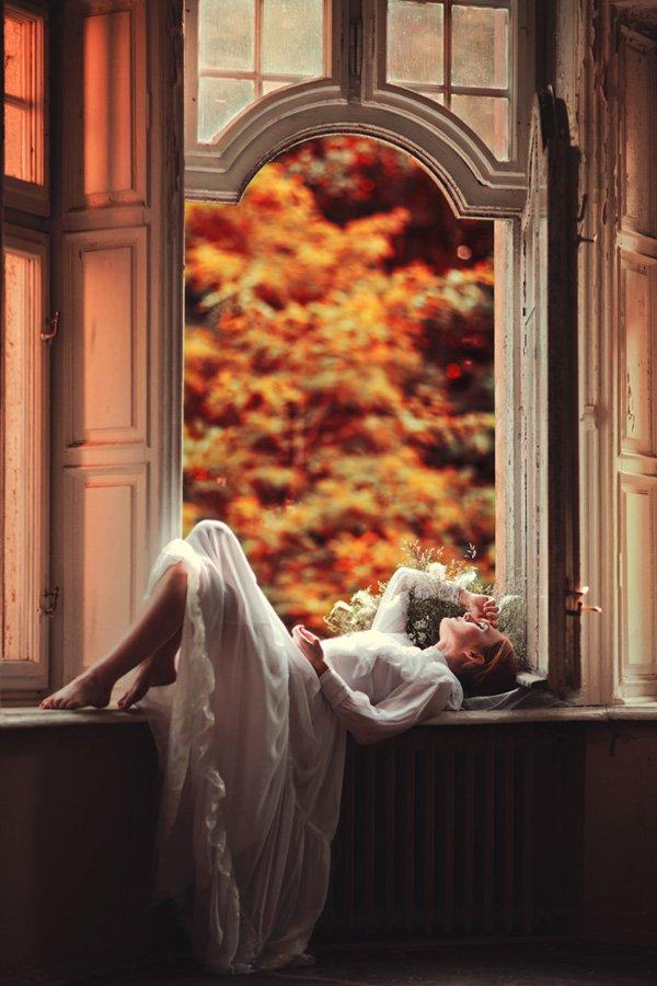 Beautiful Women with Flowers by Klaudia Rataj (14)