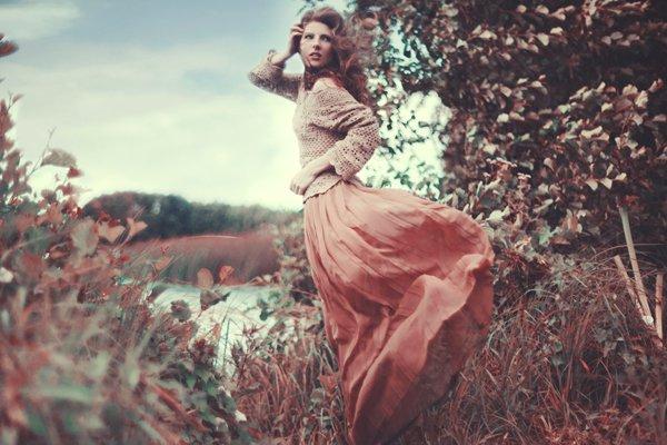 Beautiful Women with Flowers by Klaudia Rataj (3)