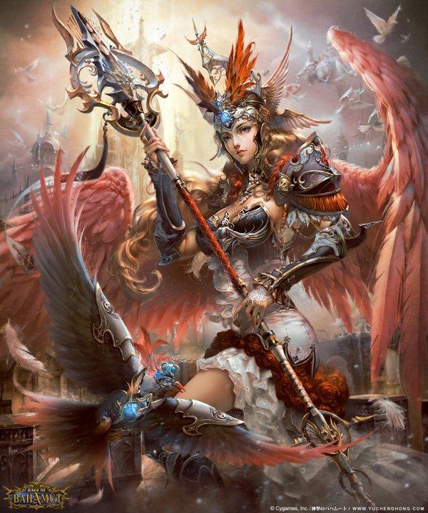 Fantasy Digital Art by Yu Cheng Hong (2)