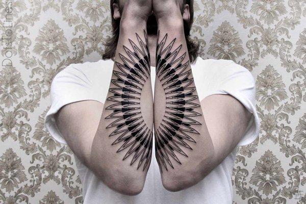 Innovative Inspired Geometric Tattoos (10)